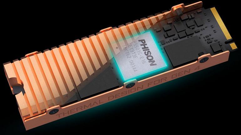 Phison asegura que las SSD llegarán a 6,5 GB/s en 2020