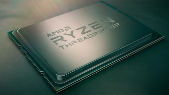 A la vista un procesador AMD Ryzen Threadripper 3960X de 24 núcleos