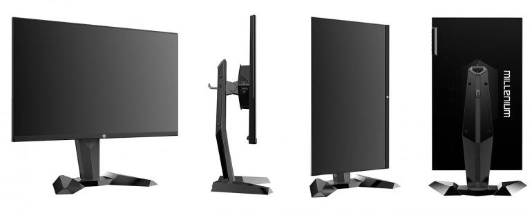 Monitores y Teclados Millenium, productos gaming de competición para jugadores de PC