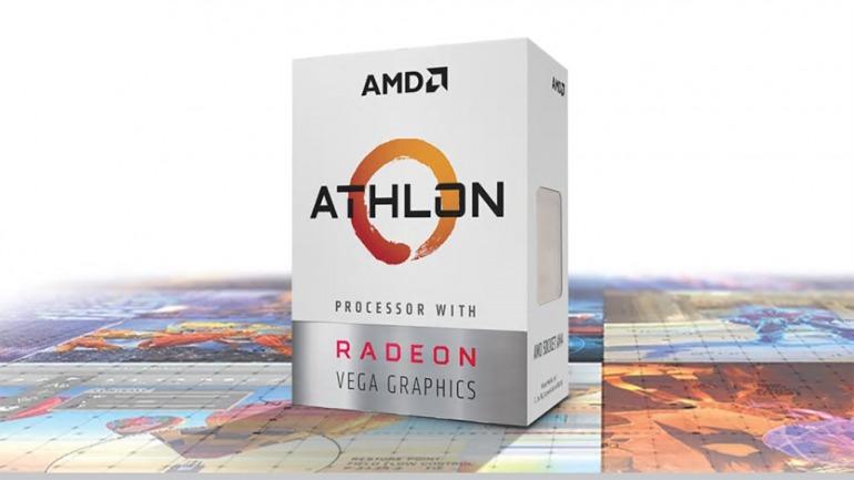 AMD refuerza su gama baja de procesadores con el Athlon 3000G