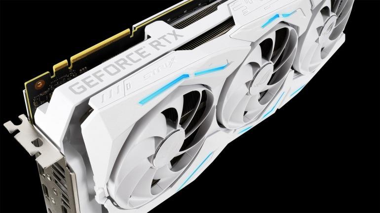 Asus presenta su nueva y potente tarjeta gráfica RTX 2080 Ti blanca