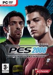 Car�tula oficial de PES 2008 PC