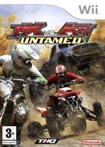 Carátula de MX vs ATV Untamed - Wii