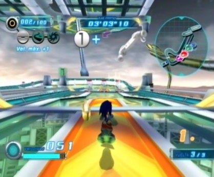 Sonic Riders Zero Gravity análisis