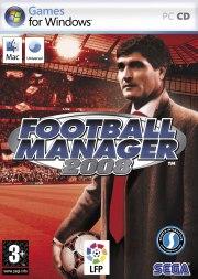 Carátula de Football Manager 2008 - PC