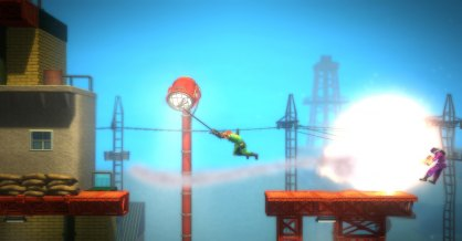 Bionic Commando Rearmed an�lisis