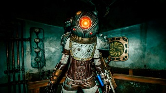 Bioshock 2: esto no es una captura del juego, es un cosplay
