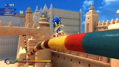 Sonic Unleashed an�lisis