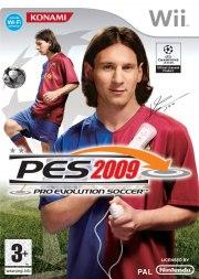 Carátula de PES 2009 - Wii