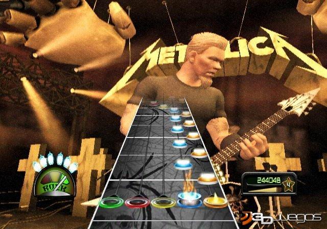 Guitar Hero Metallica - An�lisis