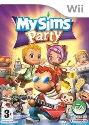 Carátula de MySims Party - Wii