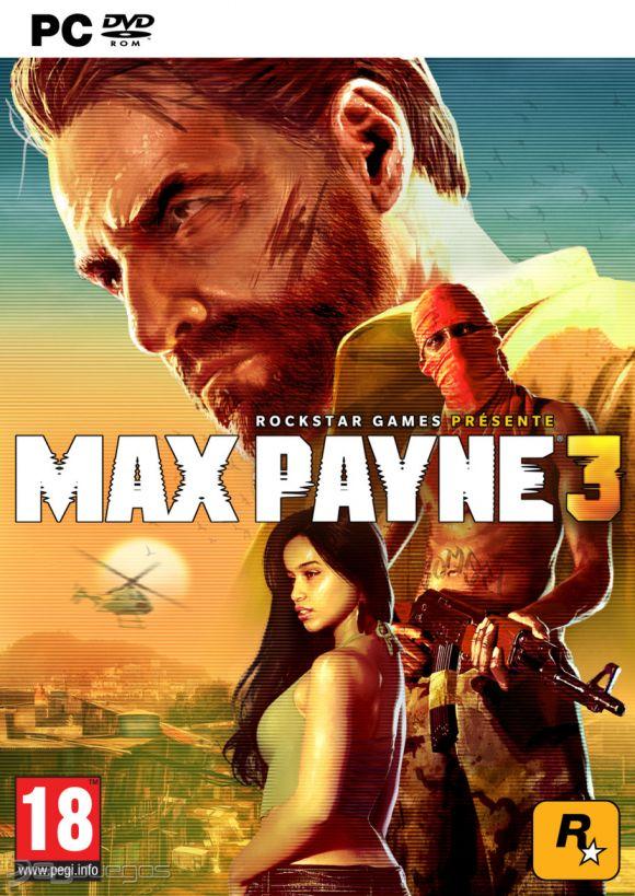 Car�tula de Max Payne 3