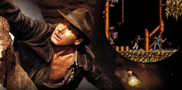 En la década de los 80 no sólo comenzaba el cine de acción y aventuras, sino también los videojuegos. Los primeros títulos del género adaptaban películas como principal fuente de inspiración.