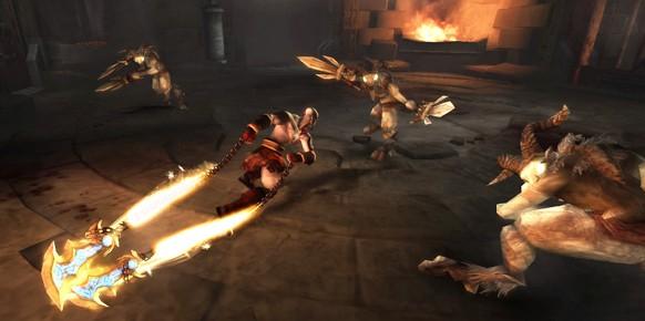 La próxima gran propuesta de Sony para su PSP es God of War: Ghost of Sparta, título que vendrá con contenido extra para God of War III de PS3 para aquellos que lo reserven.
