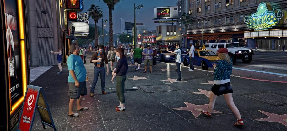 De los bajos fondos y las áreas marginales al estrellato de Vinewood y el Paseo de la Fama, GTA V hace un divertido y sarcástico retrato de Los Ángeles. Tan agresivo y poco sutil como certero.