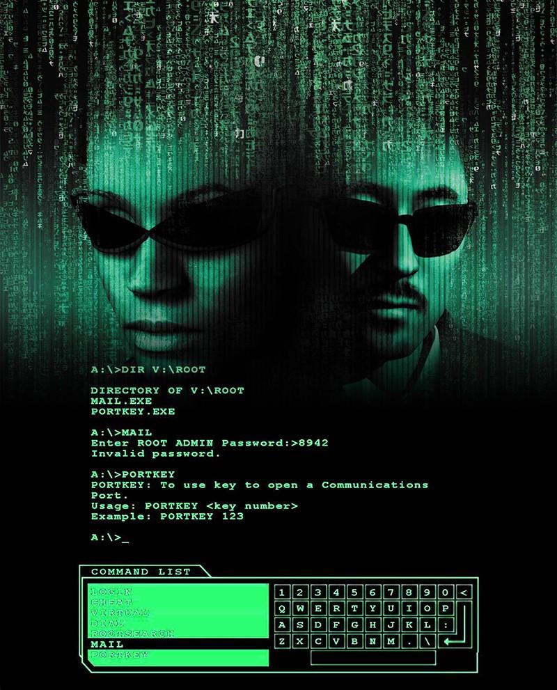 El minijuego de hackeo de Enter the Matrix fue uno de los escasos puntos de interés de un, por lo demás, bastante mediocre shooter.