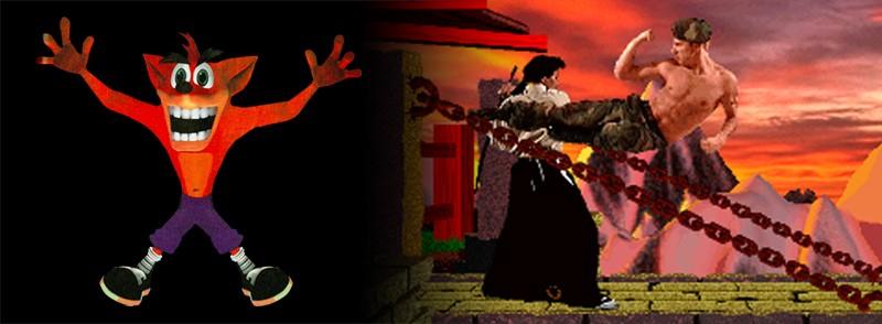 Fue uno de los muchos clones de Mortal Kombat que poblaron las tiendas de videojuegos, con fondos prerenderizados, personajes digitalizados y animados mediante stop-motion, un montón de fatalities y un control abominable. El presupuesto se acabó antes de finalizar el desarrollo, por lo que Naughty Dog llegó a coquetear con el cierre definitivo. Dicha circunstancia propició una de las anécdotas más curiosas del título: iban tan cortos de personal que el mismísimo Jason Rubin se disfrazó para convertirse en Konotori y The Ninja; Andy Gavin daría voz al ninja y se convertiría Kull the Despoiler. El juego contó con la banda sonora del mismísimo Rob Zombie. ¡Los locos desarrollos de los noventa!