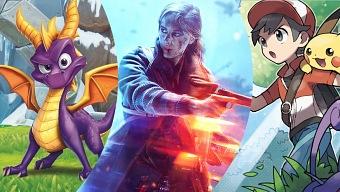 Lo Mejor del Mes en videojuegos: Noviembre 2018