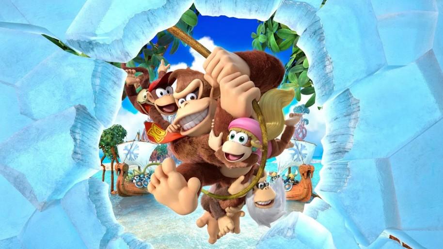Imagen de Donkey Kong Country: Tropical Freeze.