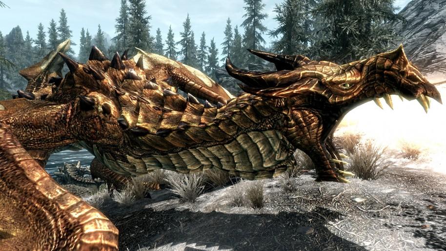 Las batallas contra dragones siguen siendo espectaculares, gracias sobre todo a su épica banda sonora.