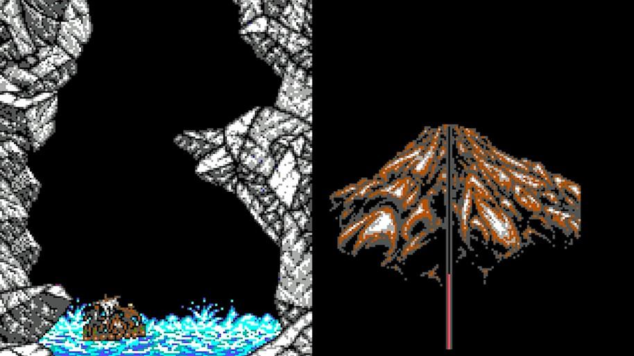 Tras un complejo nivel repleto de dinosaurios y criaturas de todo tipo que nos amenazan, llega el nivel final con la escapada a través del volcán.