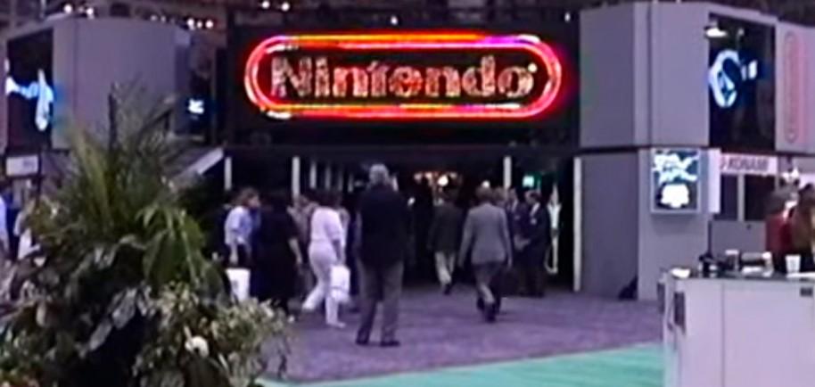 Stand de Nintendo en el CES de Las Vegas (1991)
