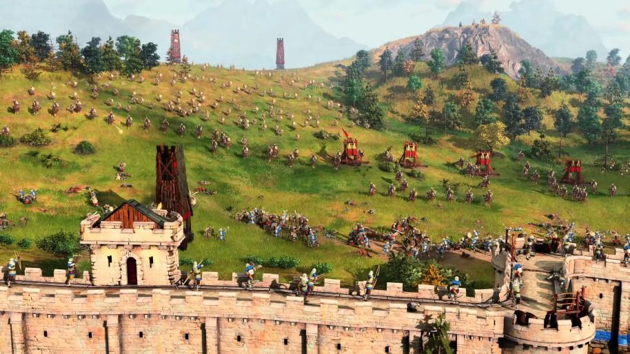 O primeiro trailer de Age of Empires 4 antecipa grandes batalhas.