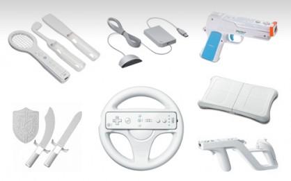 Volantes de goma, pistolas, Raquetas… Wii ha sido la más avispada a la hora de ofrecer alternativas de control al usuario. ¿Un sacacuartos? ¿Una opción válida? Hay respuestas para todos los gustos.