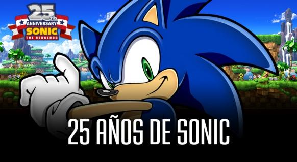Reportaje de 25 a�os de Sonic