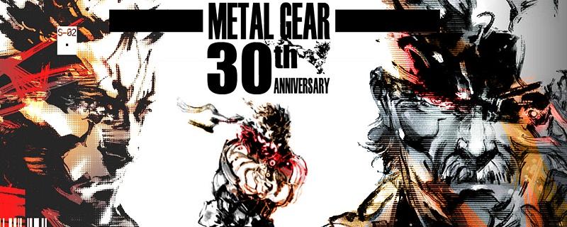¡30 años de Metal Gear! Homenaje a la serie de Kojima y Konami