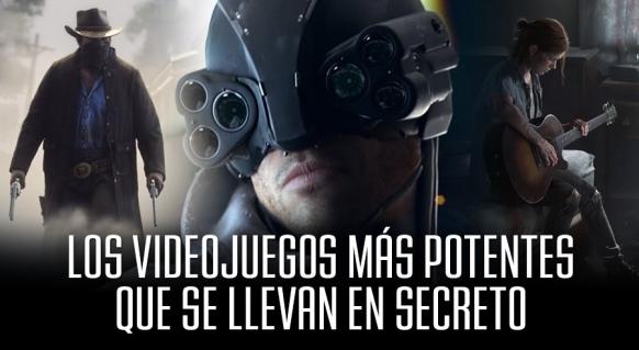 Reportaje de Los 5 Videojuegos más Potentes que se llevan en Secreto