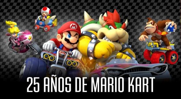 Reportaje de 25 años de Mario Kart