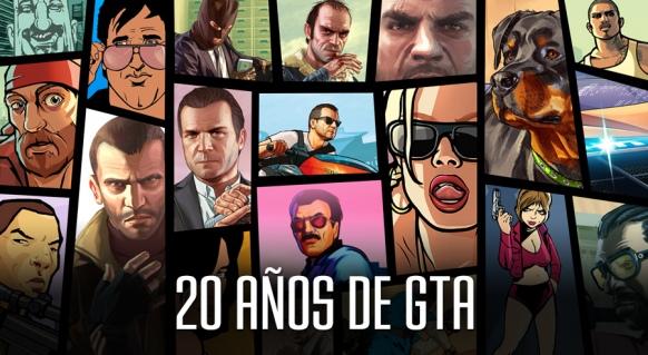 Reportaje de 20 años de GTA