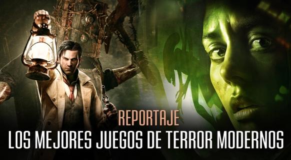 Reportaje de Los 10 mejores juegos de terror modernos