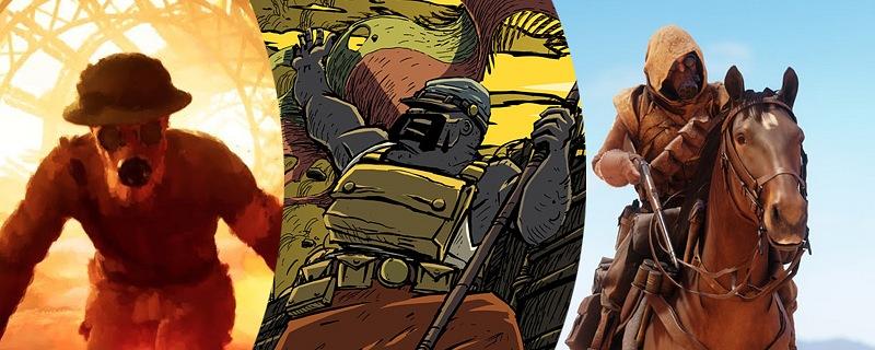 La Gran Guerra y los juegos. Estos son algunos de los mejores