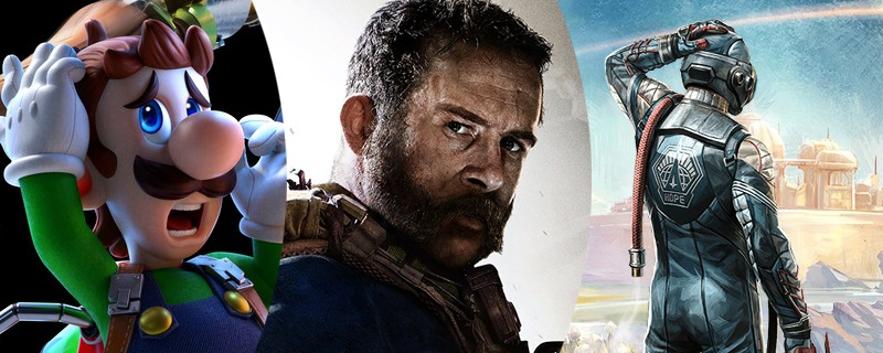 Luigi's Mansion, Call of Duty o The Outer Worlds entre lo mejor del mes