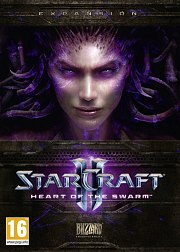 Car�tula oficial de StarCraft 2: Heart of the Swarm PC