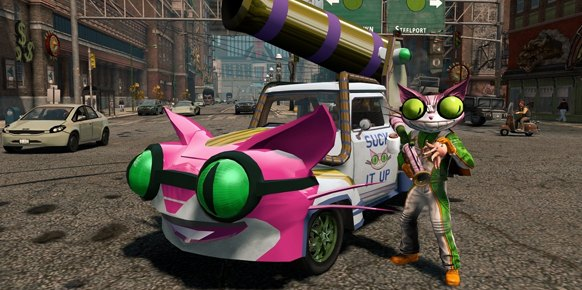 Saint's Row The Third PS3