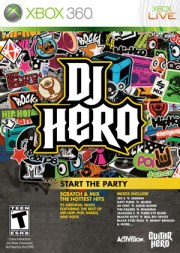 Carátula de DJ Hero - Xbox 360