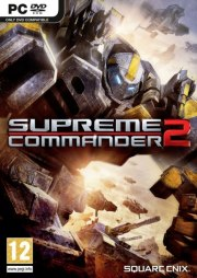 Car�tula oficial de Supreme Commander 2 PC