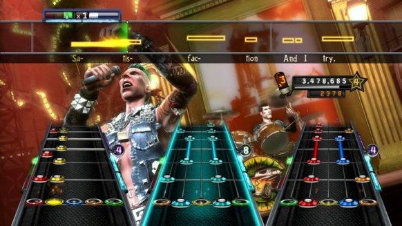 Guitar Hero 5.
