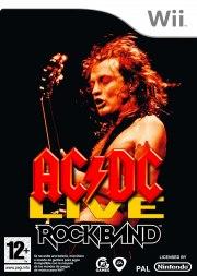 Carátula de AC/DC Live: Rock Band - Wii