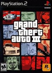 Carátula de Grand Theft Auto III - PS2