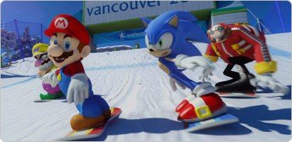 Mario Sonic En Los Juegos Olimpicos De Invierno Supera Los 6