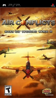 Carátula de Air Conflicts: Aces of World War II - PSP