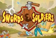 Carátula de Swords & Soldiers - Wii