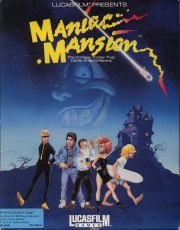 Carátula de Maniac Mansion - PC