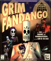 Carátula de Grim Fandango - PC