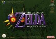 Carátula de Zelda Majora's Mask - N64