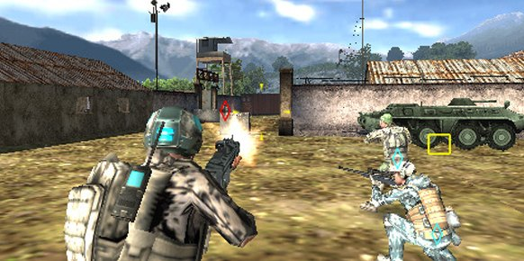 Ghost Recon Future Soldier PSP